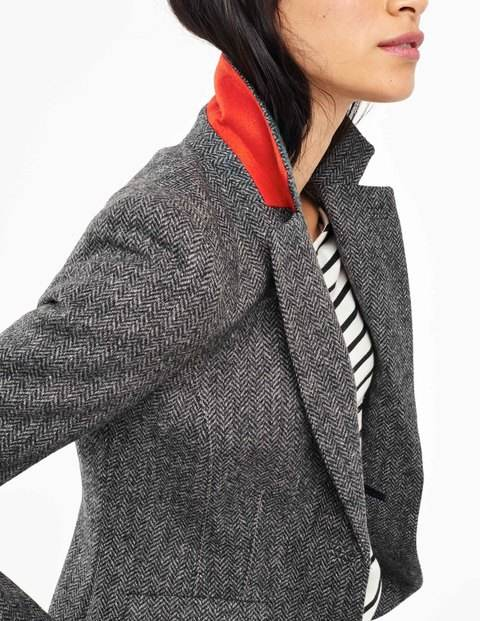 British Tweed Blazer £149 click to visit Boden
