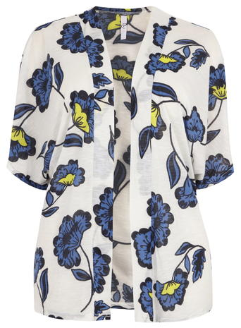 Evans Ivory Printed Kimono     Was £18.00 Now £12.00 click to visit Evans