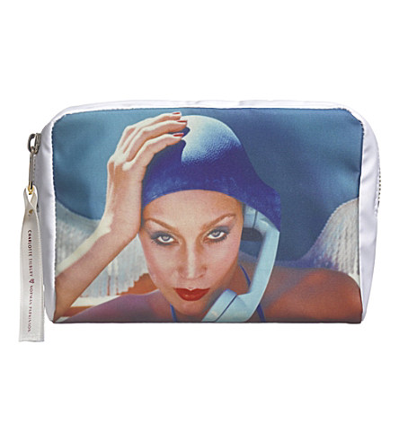 CHARLOTTE TILBURY Charlotte Tilbury X Norman Parkinson Jerry Hall make-up bag     £32.00 click to visit Selfridges