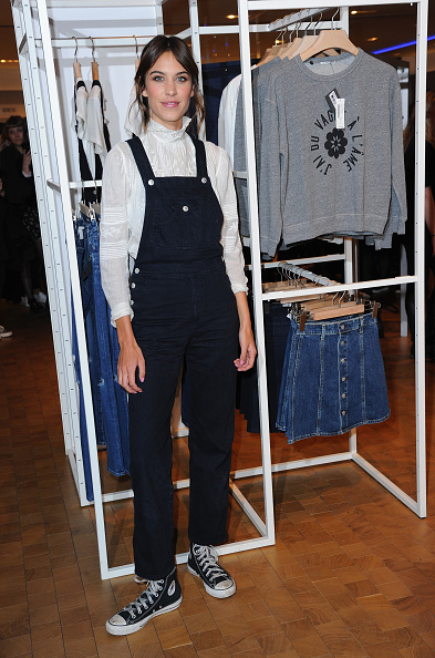 Alexa Chung Launches The 'Alexa Chung x AG' Jeans Collection For Selfridges