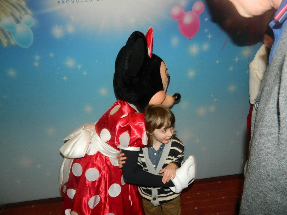 Would love to take Joe to meet Minnie for real.