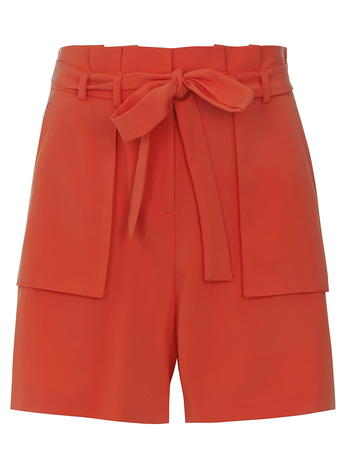 Tall Red Paper Bag Shorts     Was £18.00     Now £16.20 click to visit Dorothy Perkins