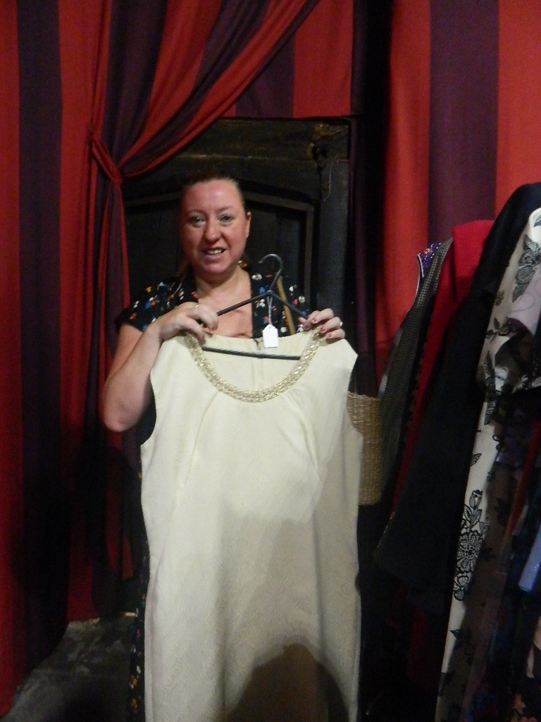 Loved this 1960s full length dress £25.