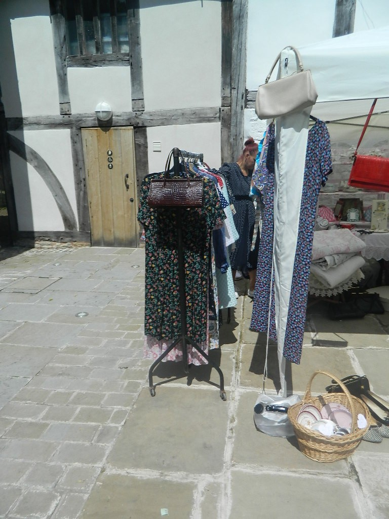 More Stalls were set up in the sunshine.