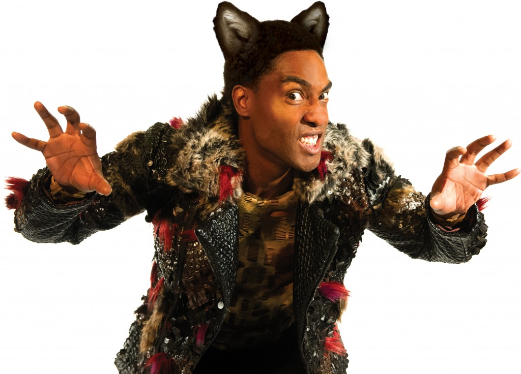 Simon Webbe as Wolf in The Three Little Pigs