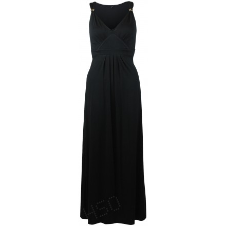 Ex M&CO Black Maxi Dress £17.50 click to visit High Street Outlet