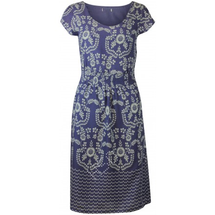 Ex White Stuff Mauve Mist Printed Summer Dress £21.99 click to visit High Street Outlet