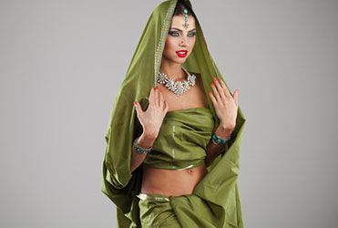 Wearing green is believed to reinstate your energy and inspire harmony in others.