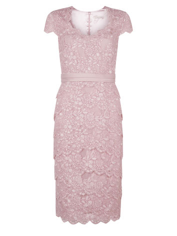 LACE TIERED DRESS Item No. 010038587 £199.00 click to visit Jacques Vert