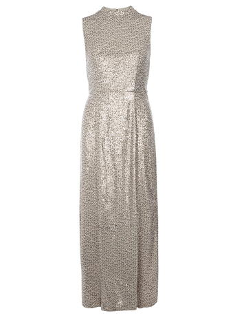 high neck sequin maxi dress     Price: £85.00 click to visit Dorothy Perkins