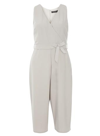 grey culotte jumpsuit     Price: £40.00 click to visit Dorothy Perkins