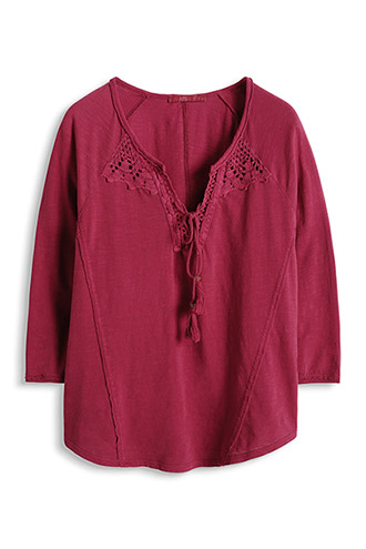 100% cotton tunic £ 29.00 click to visit Esprit