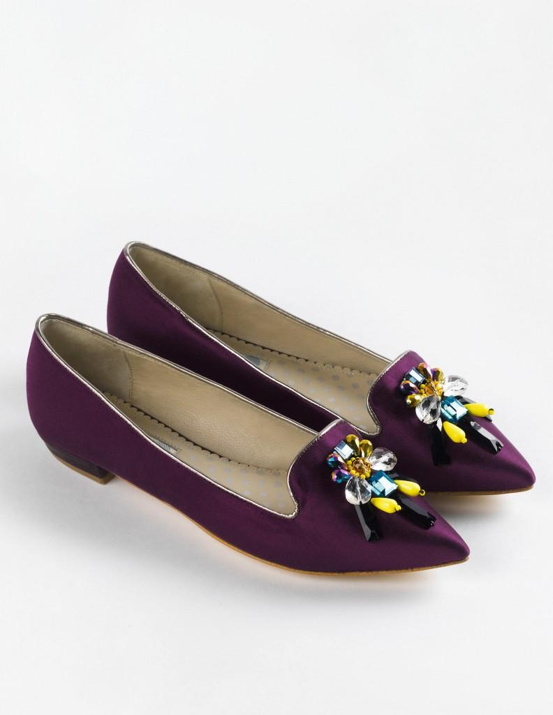 Embellished Slipper now £89.10 click to visit Boden