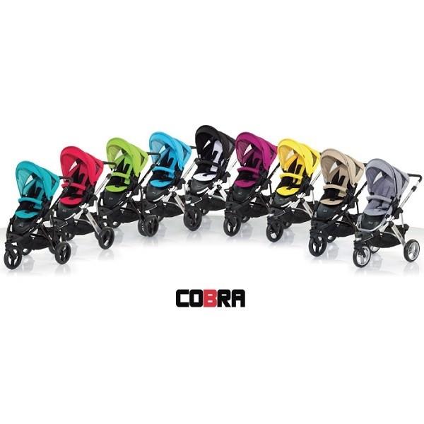 ABC Design Cobra 3-Wheeler Pushchair (Silver) £420 click to visit Babythingz