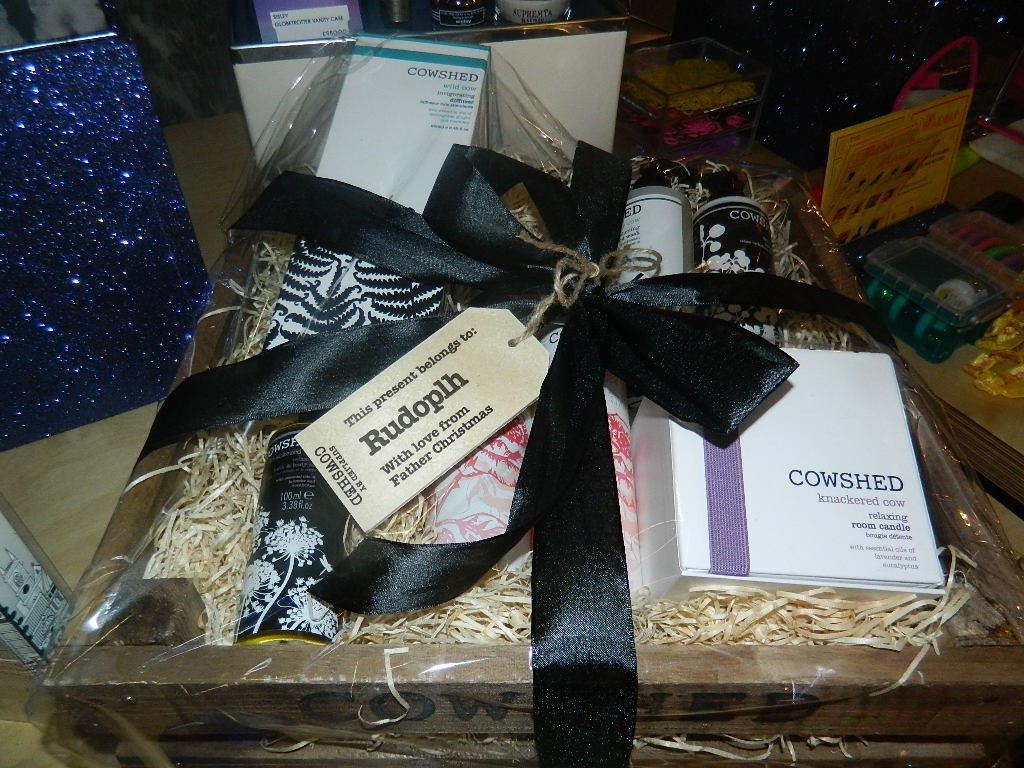 A lovely Cowshed gift