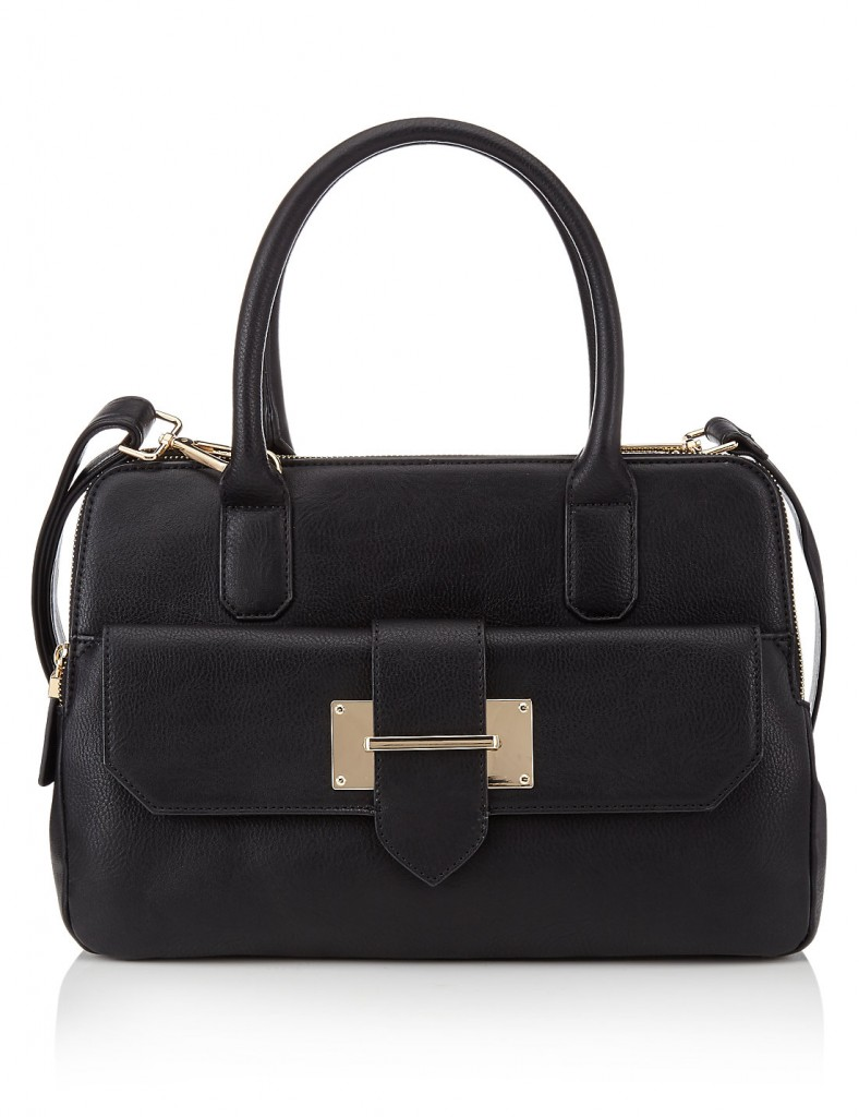 M&S COLLECTION Faux Leather Front Pocket Tote Bag £39.50 click to visit Marks and Spencer