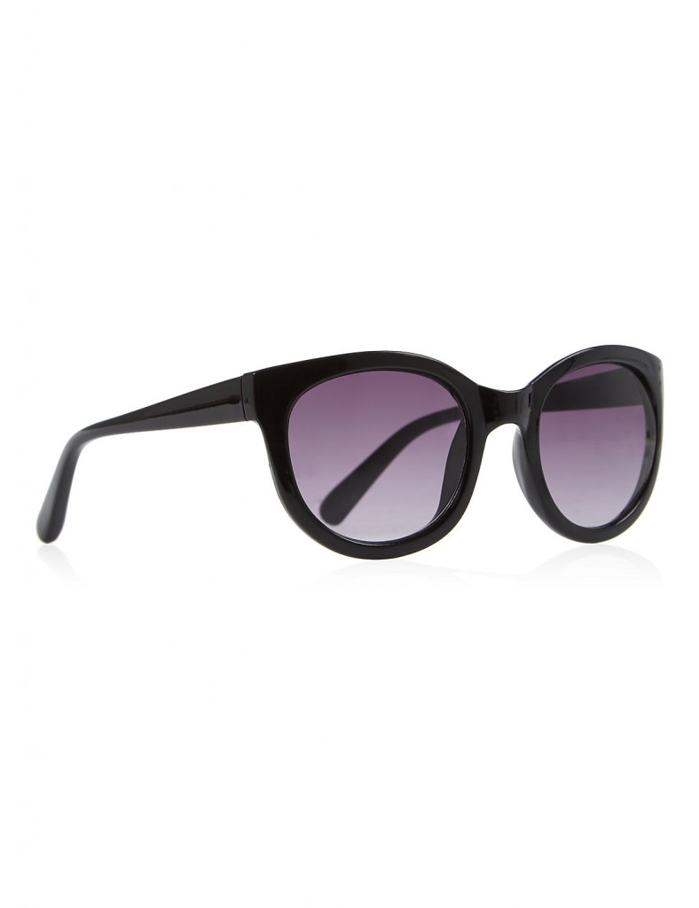 M&S COLLECTION Winged Round Frame Sunglasses £18.00 click to visit Marks and Spencer