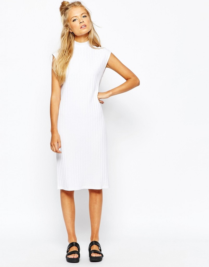 Monki Ribbed Dress £25.00 Click to visit ASOS