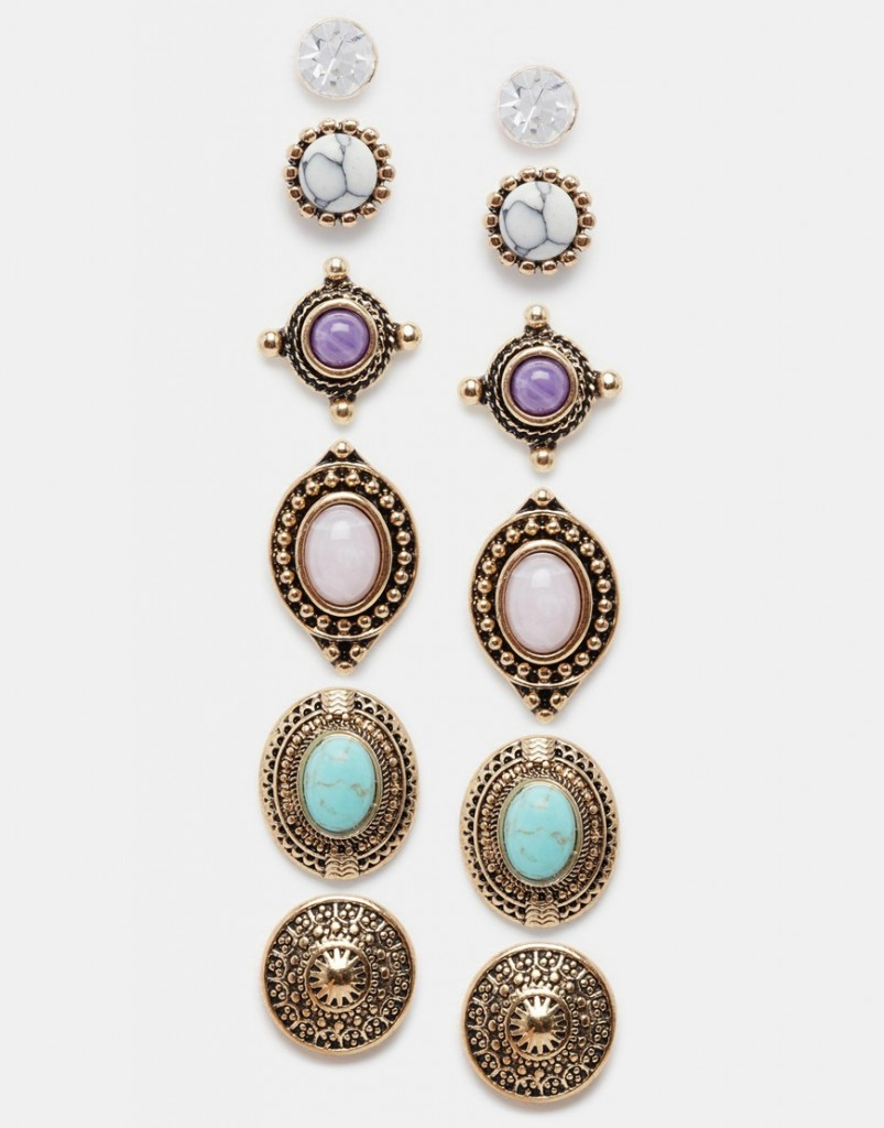 ALDO Thilisen Multipack Earrings £10.00 click to visit ASOS