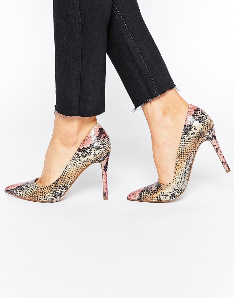 ASOS PACEY Pointed High Heels £25.00 Click to visit ASOS