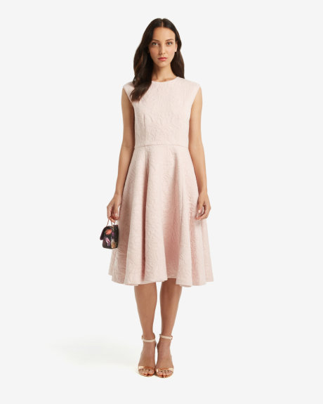 HARMEL Jacquard midi dress     £169 click to visit Ted Baker