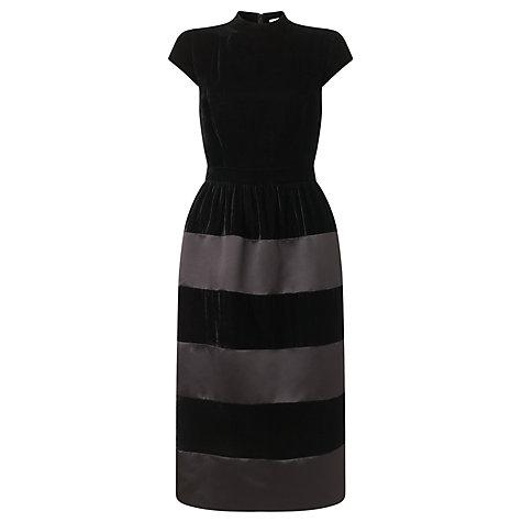Bruce by Bruce Oldfield Velvet Panel Dress, Black £199 click to visit John Lewis