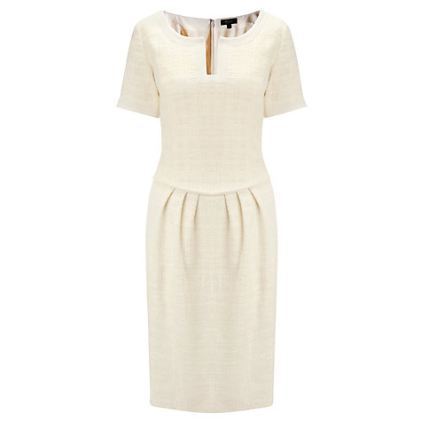 Bruce by Bruce Oldfield Tweed Dress, Cream £129 click to visit John Lewis