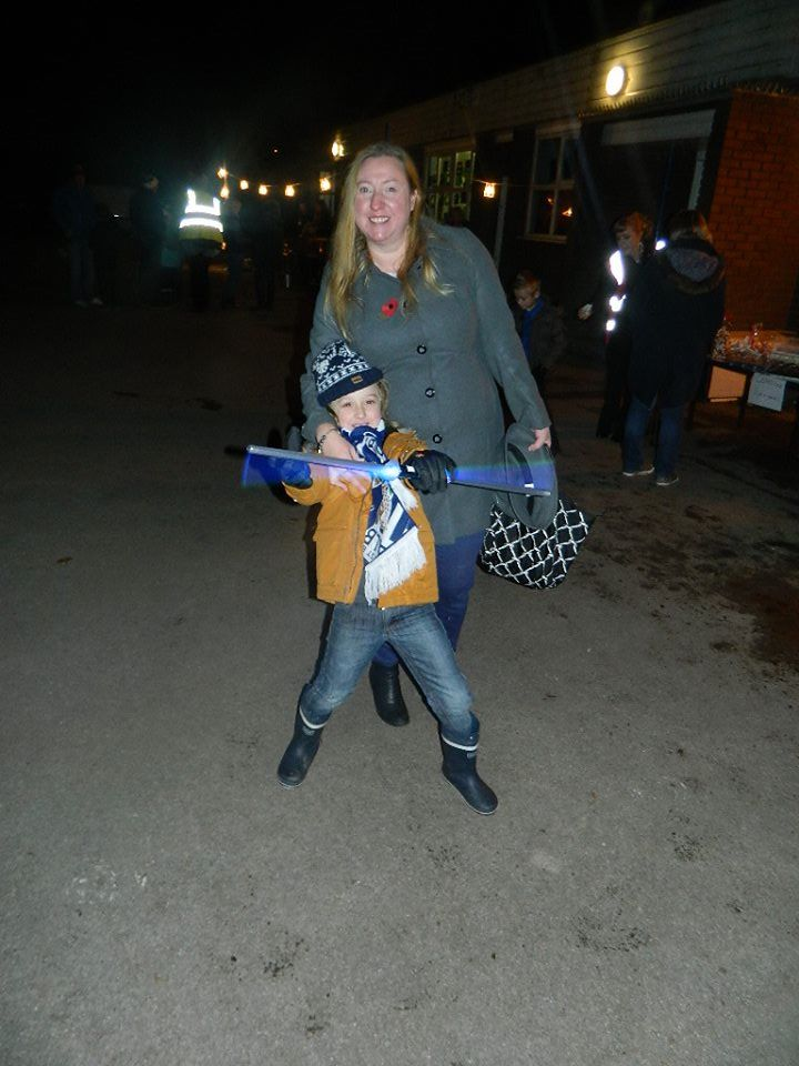 Ready for Bonfire Night last year