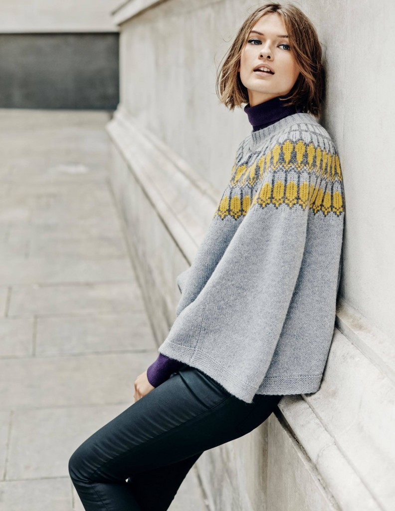 Chelsea Knitted Poncho £86.13 click to visit Boden