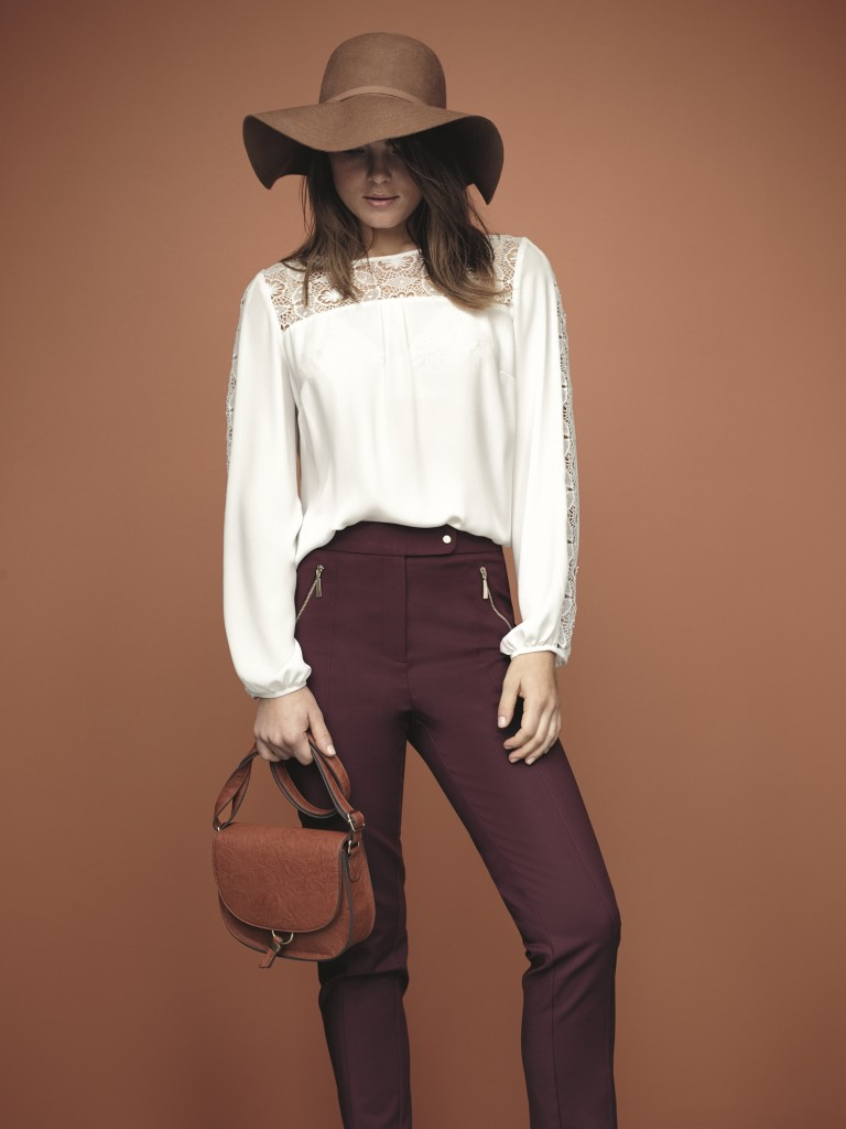 F&F Hat - Blouse --ú14 Trousers --ú16 Bag -