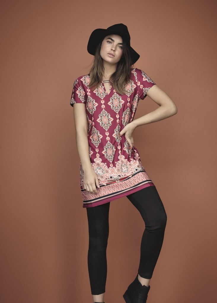 F&F Hat - Dress - Leggings - Boots #2