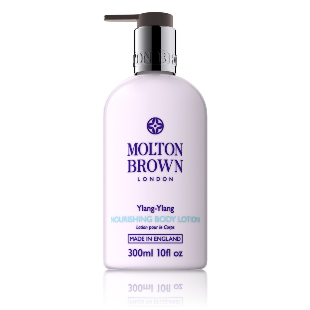 Ylang-Ylang Nourishing Body Lotion £25 click to visit Molton Brown
