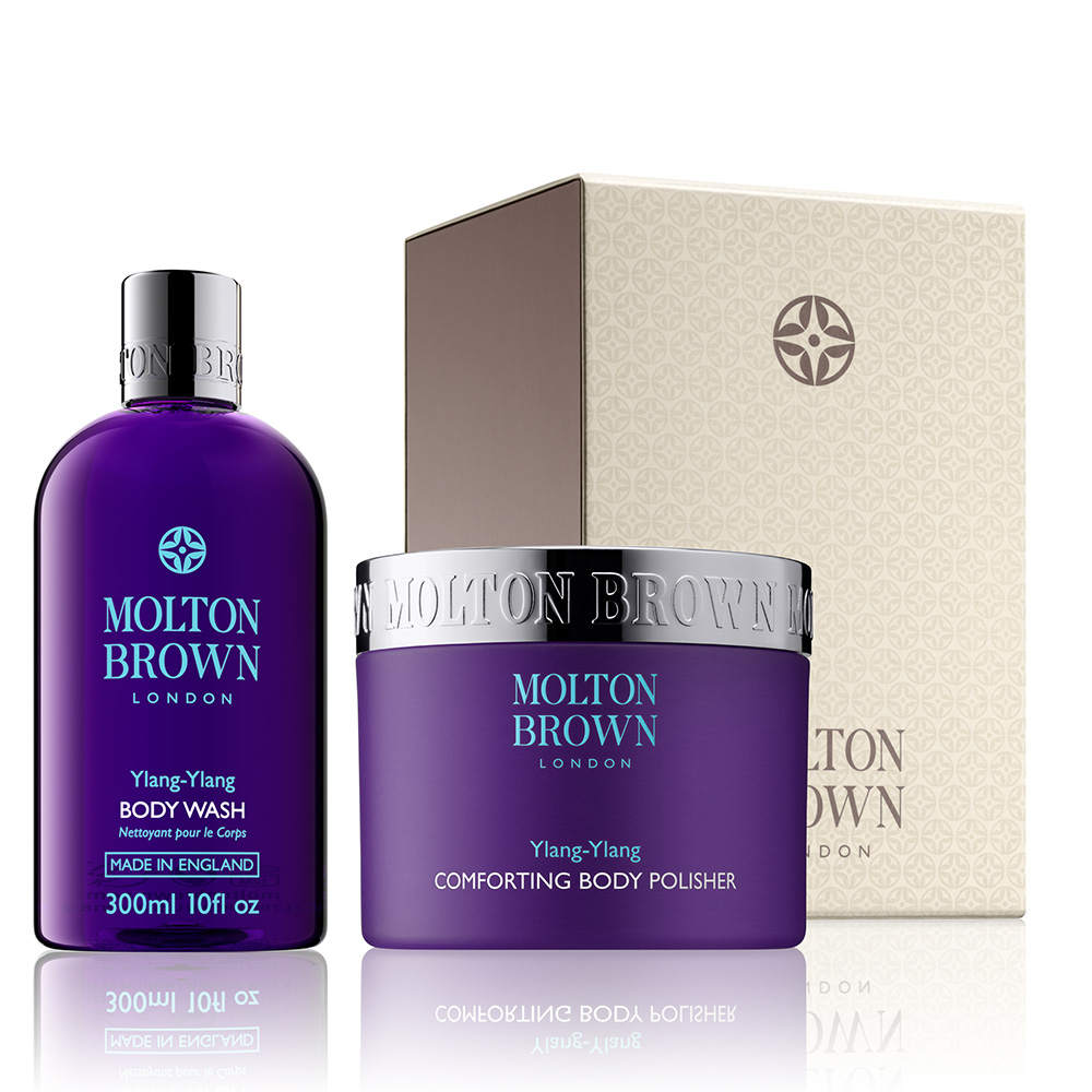 Ylang-Ylang Relaxing Body Gift Set Write a review Write the first review £52.00 click to visit Molton Browm