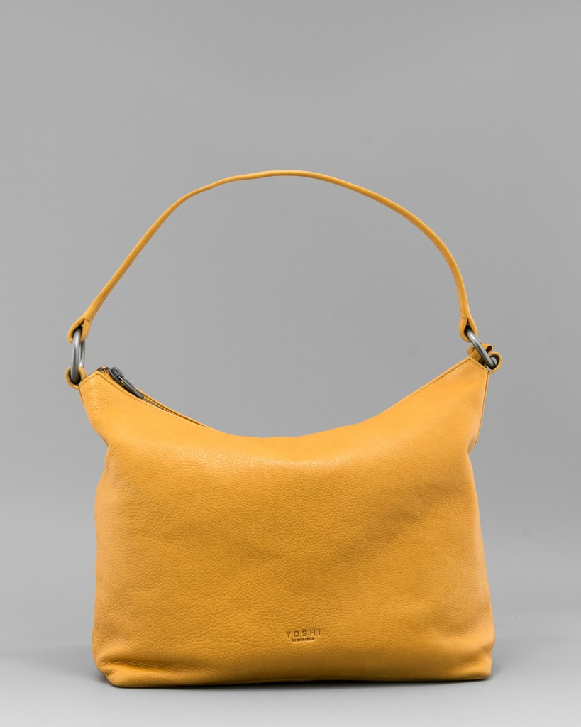 Starley Saffron Leather Hobo Bag £85.00 GBP click to visit Yoshi Lichfield