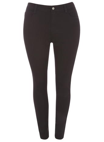 DP Curve Black Superstretch Jeans     Price: £32.00     Colour: Black click to visit Dorothy Perkins
