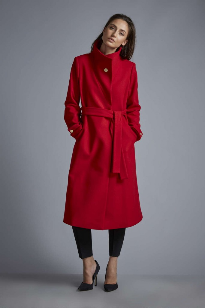 W Red Judo Coat     Was £150.00 Now £135.00 click to visit Wallis
