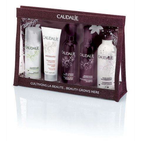 Caudalie Christmas Body and Face Essential Set £18 click to visit HQ Hair