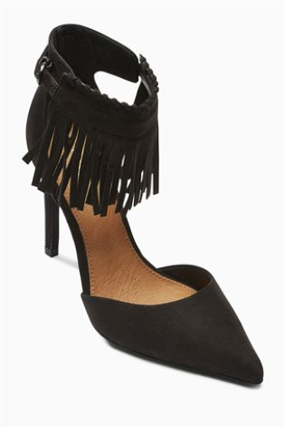 Fringed Point Shoes £35 click to visit Next