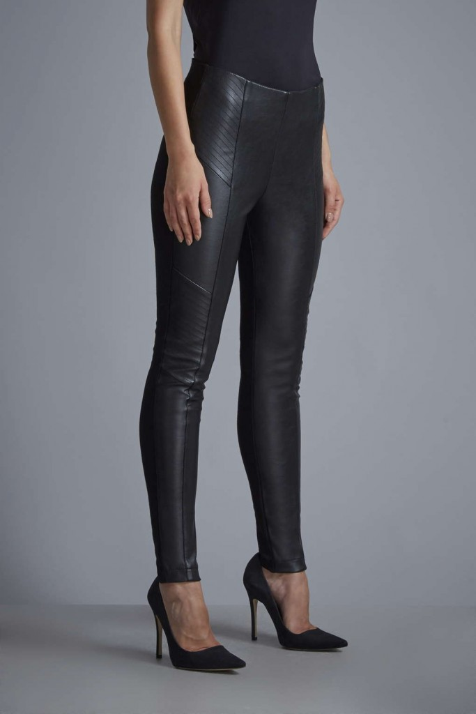 W Black Faux Leather Jegging     Price: £45.00 click to visit Wallis