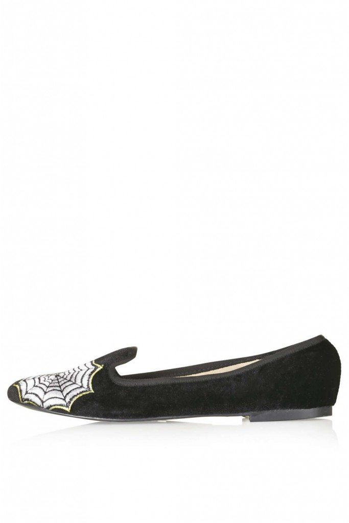 SPOOKY Embroidered Slippers     Price: £24 click to visit Topshop