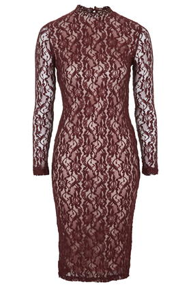 **Lace Bodycon Dress by Glamorous     Price: £35 click to visit Topshop