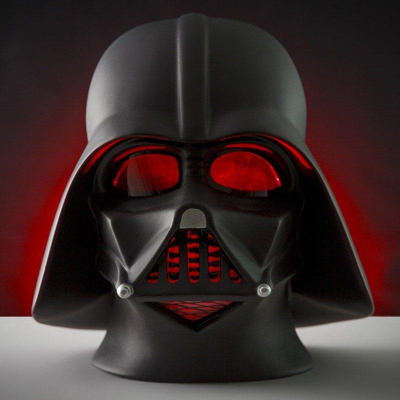 Darth Vader Star Wars 3D Mood Light £15 click to visit Hawkins Bazaar