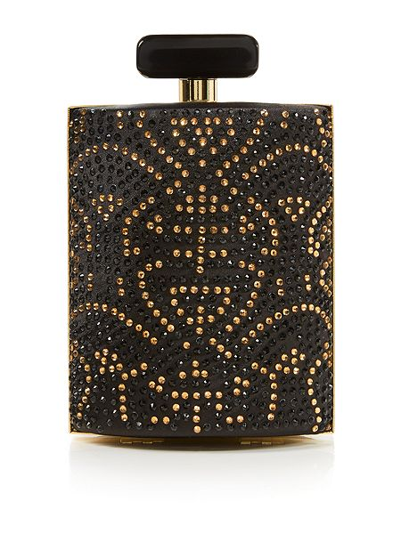 Biba Bottle logo clutch bag £89 click to visit House of Fraser