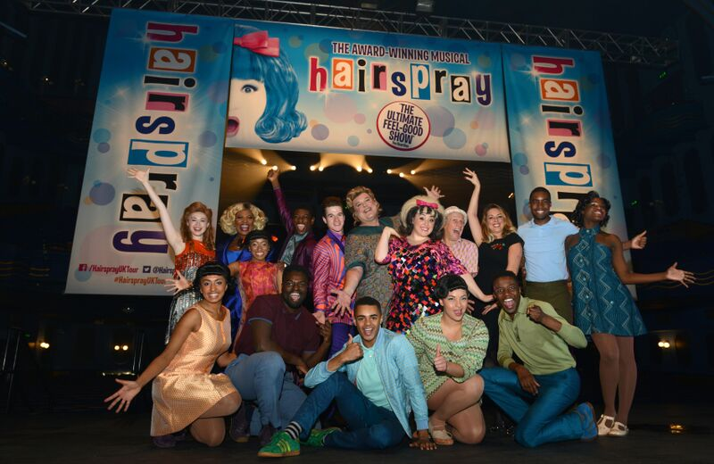 Some of the cast of Hairspray