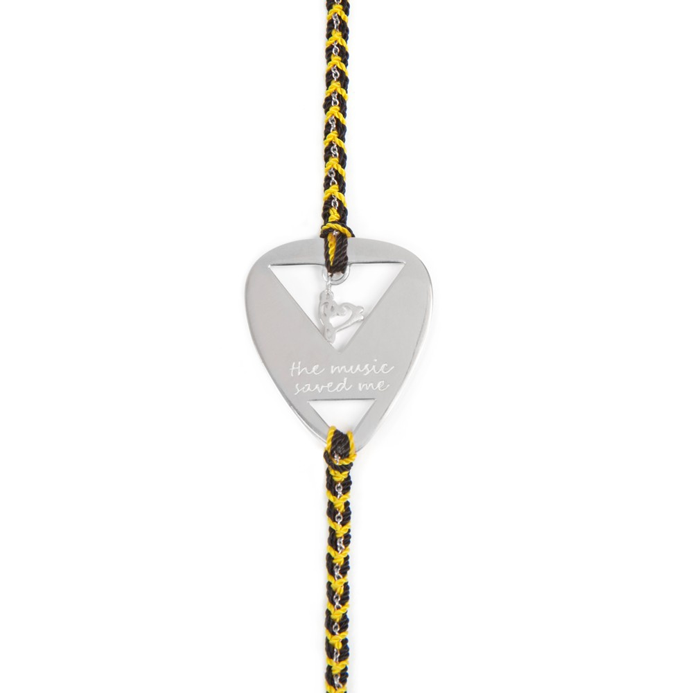 Daisy Laura Whitmore The Music Saved Me Bracelet LWBR61 £69.00 click to visit T H Baker