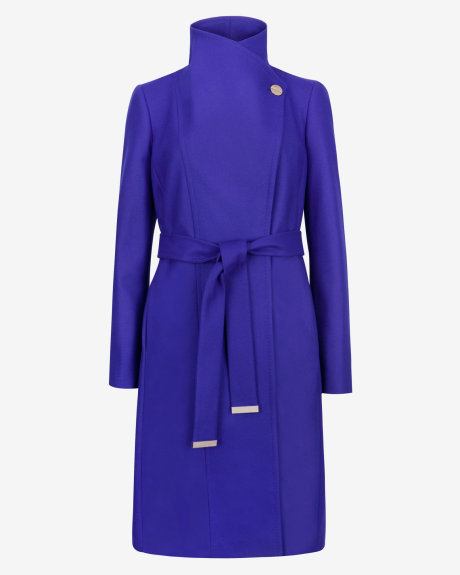 LORILI Long wool wrap coat     £299 click to visit Ted Baker
