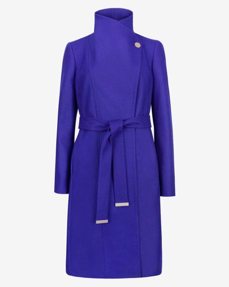 LORILI Long wool wrap coat     £299 click to visit Ted Baker