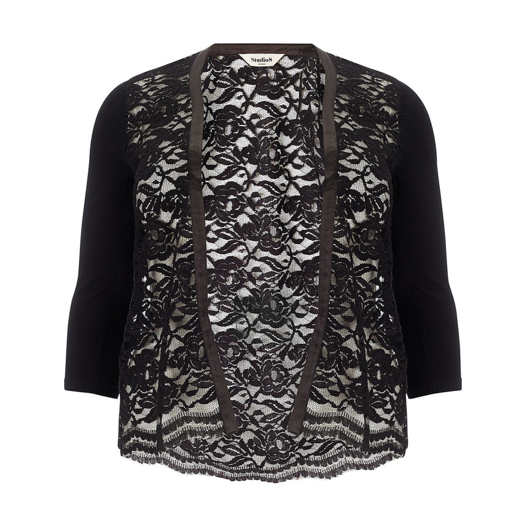 Leona Lace Cardigan Sale £39.00 click to visit Studio 8