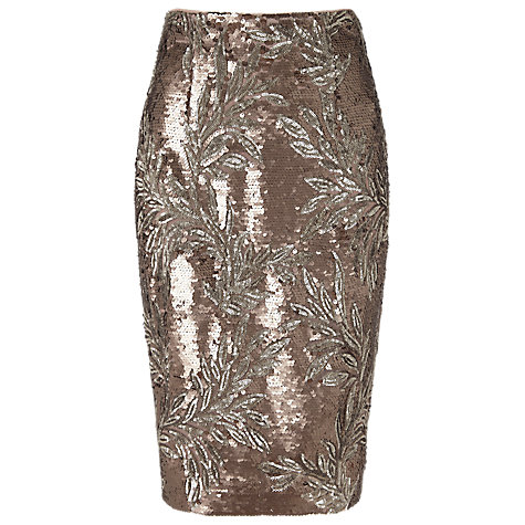 Nasia Sequin Skirt £89 click to visit Phase Eight