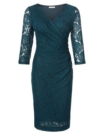 ROSE LACE WRAP DRESS Item No. 060040039 £99.00 Click to visit Kaliko
